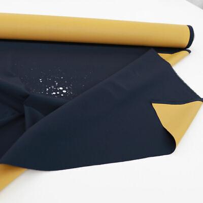 Blau Gelb Outdoor-Stoff Nylon Wasserdicht Regen-Jacke -Schutz Hülle Meterware  Blau Nylon Jacke