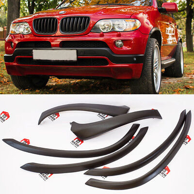 BMW X5 E53 4.6is 4.8is STYLE extended wheel arch fender flare SET 6 psc