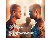 2no. Robbie Williams tickets @Southampton