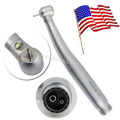 E-generator Dental Led Fast High Speed Handpiece Push Button Fiber 2hole Turbine