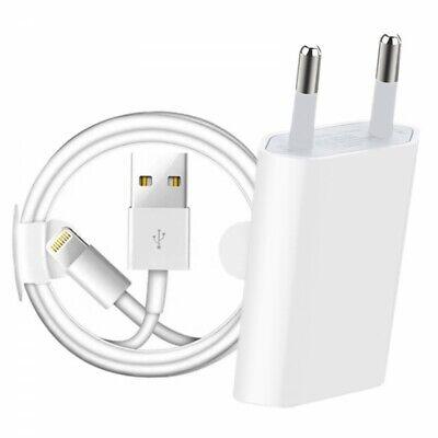 Cargador Y Cable Para iPhone 5 5S 5C 6 6S 7 8...