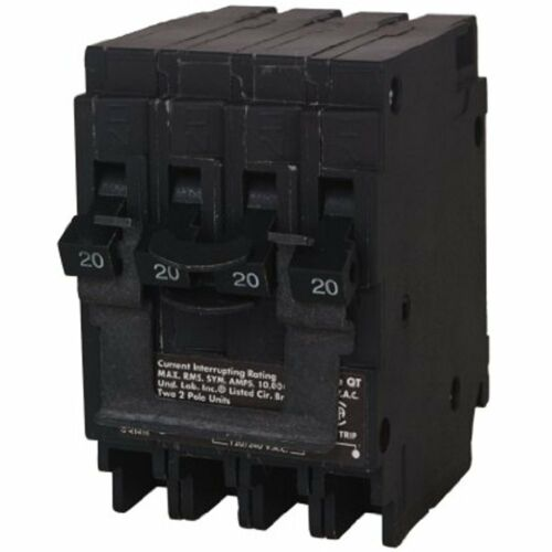 Siemens Q22020CT2 Two 20-Amp Double Pole Circuit Breaker