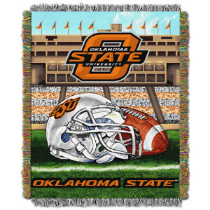 best service d7887 e1572 Oklahoma State Cowboys NCAA Home Field Advantage 48 X 60 Woven Tapestry  Throw. About this product. Stock photo  Picture 1 of 1. Stock photo