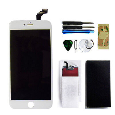 White LCD replacement Display TouchScreen Digitizer Assembly iPhone 6 Plus 5.5''