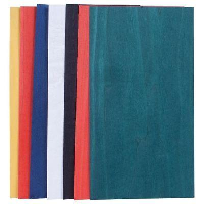 Dyed Primary Base Colors Variety Wood Veneer Pack - 3 Sq. Ft. Rawunbacked