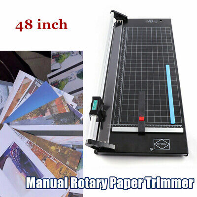 48 Manual Precision Rotary Paper Trimmer Sharp Photo Paper Cutter Machine New
