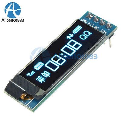0.91'' 128x32 IIC I2C Blue OLED LCD Display DIY Module DC3.3V 5V For PIC - Lcd Display Pic