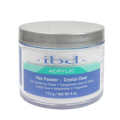 ibd Nail Flex Acrylic Powder Crystal Clear 4 oz