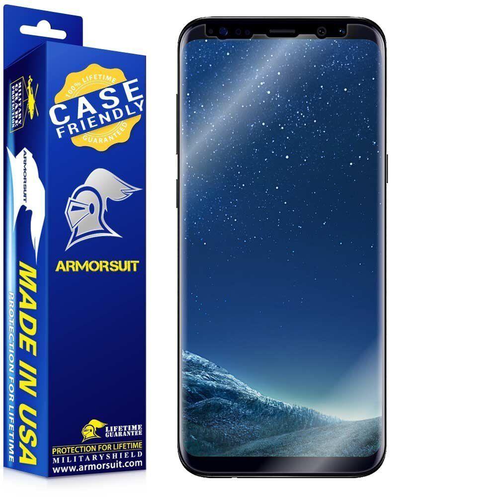 ArmorSuit MilitaryShield- Samsung Galaxy S8 Case-Friendly Sc