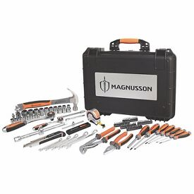 MAGNUSSON HAND TOOL SET 98 PIECE SET - BRAND NEW! ORIGINAL PACKAGING! UNWANTED GIFT!