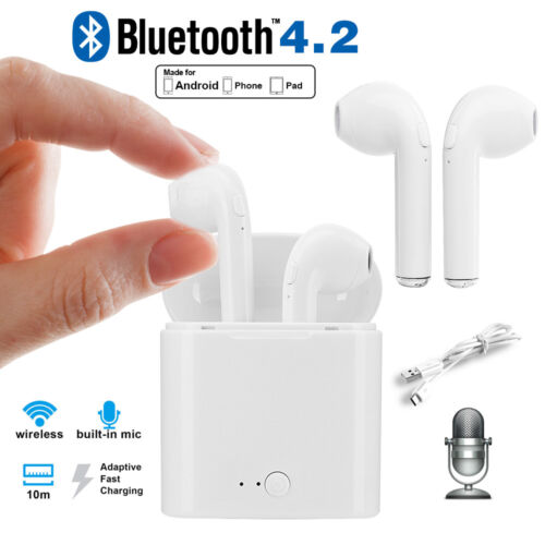 Wireless Bluetooth Earbuds Headset In Ear Headphone fr iPhone 6 7 8 X Andriod LG