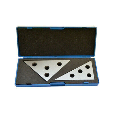 2Pc Precision 45 45 90 Degree Angle Blocks 30 60 90 Degree Angle Machinist Plate