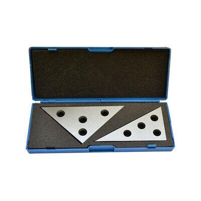 2pc Precision 45 45 90 Degree Angle Blocks 30 60 90 Degree Angle Machinist Plate