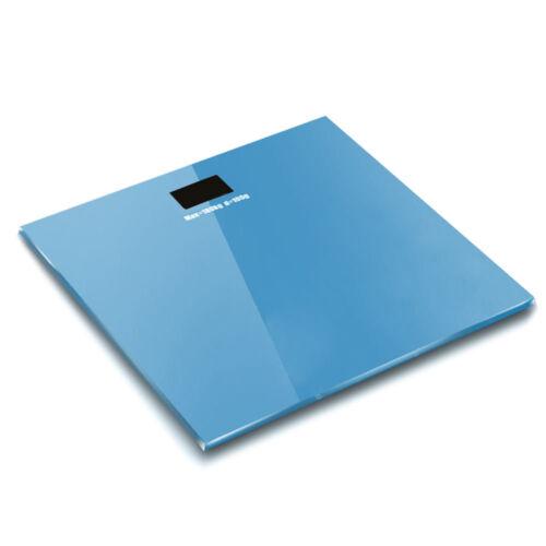 New 400LB/180KG Digital LCD Bathroom Body Weight Tempered Gl