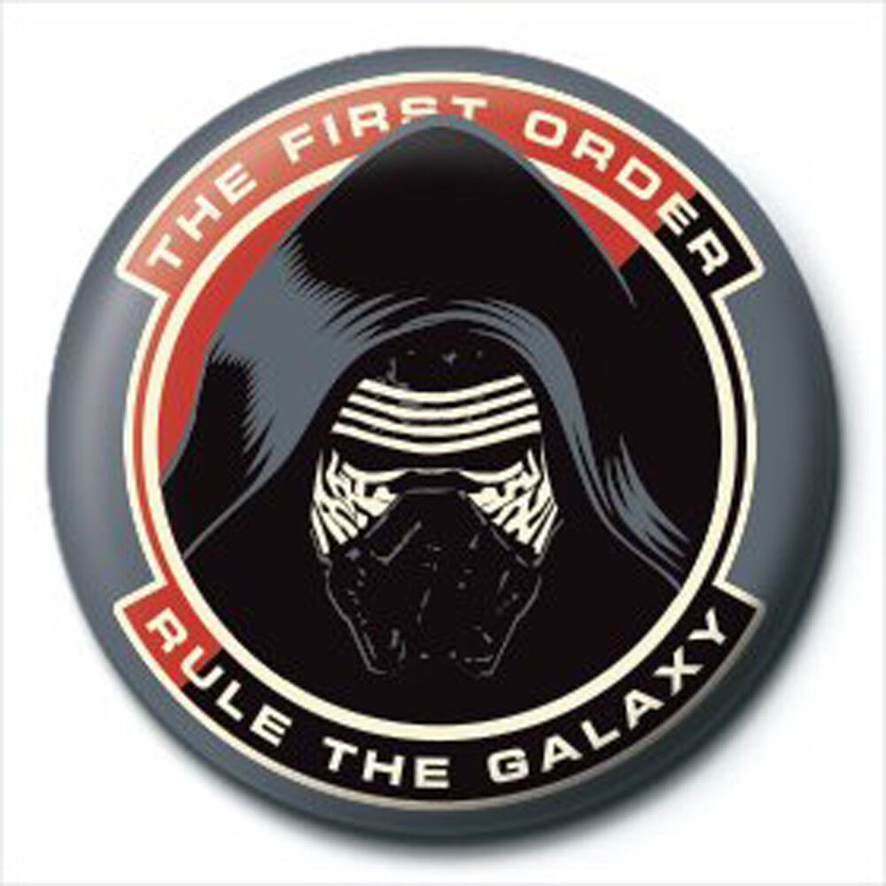Star Wars Darth Vader Black Ansteck Button Ø2,5 cm
