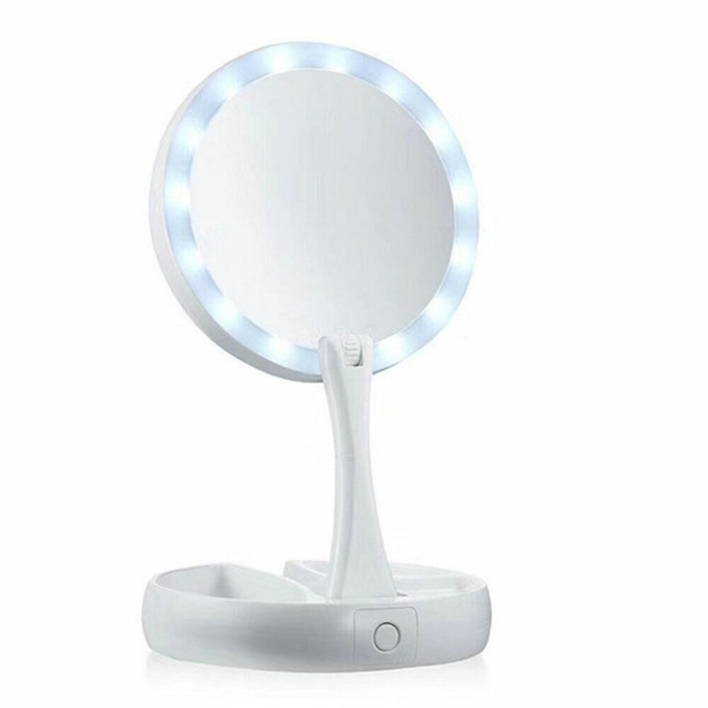 Lighted Makeup Mirror with Lights LED Magnifying with Magnif