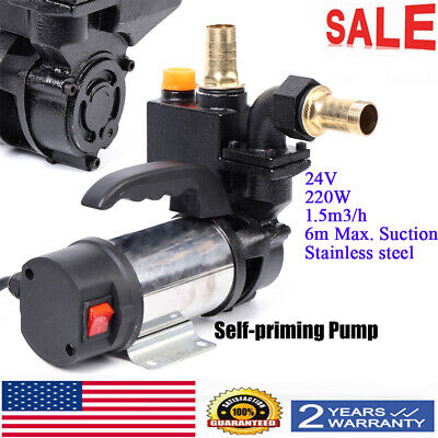 220w Jet Water Pupm Pressure Booster Water Jet Stainless Pump Self-priming 24v