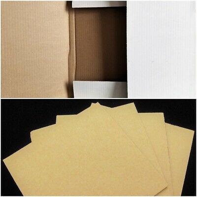 """50 Journal Mailers + 100 Pads Combo 12"""" LP Vinyl Album Cardboard Shipping Boxes"""