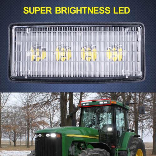 4pcs LED Upper Cab Light FOR John Deere 6000 Series: 6200 6300 6500 6400