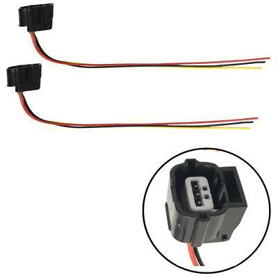 Set of 2 Camshaft Crank Position Sensor Harness Connector fits Nissan Infinity