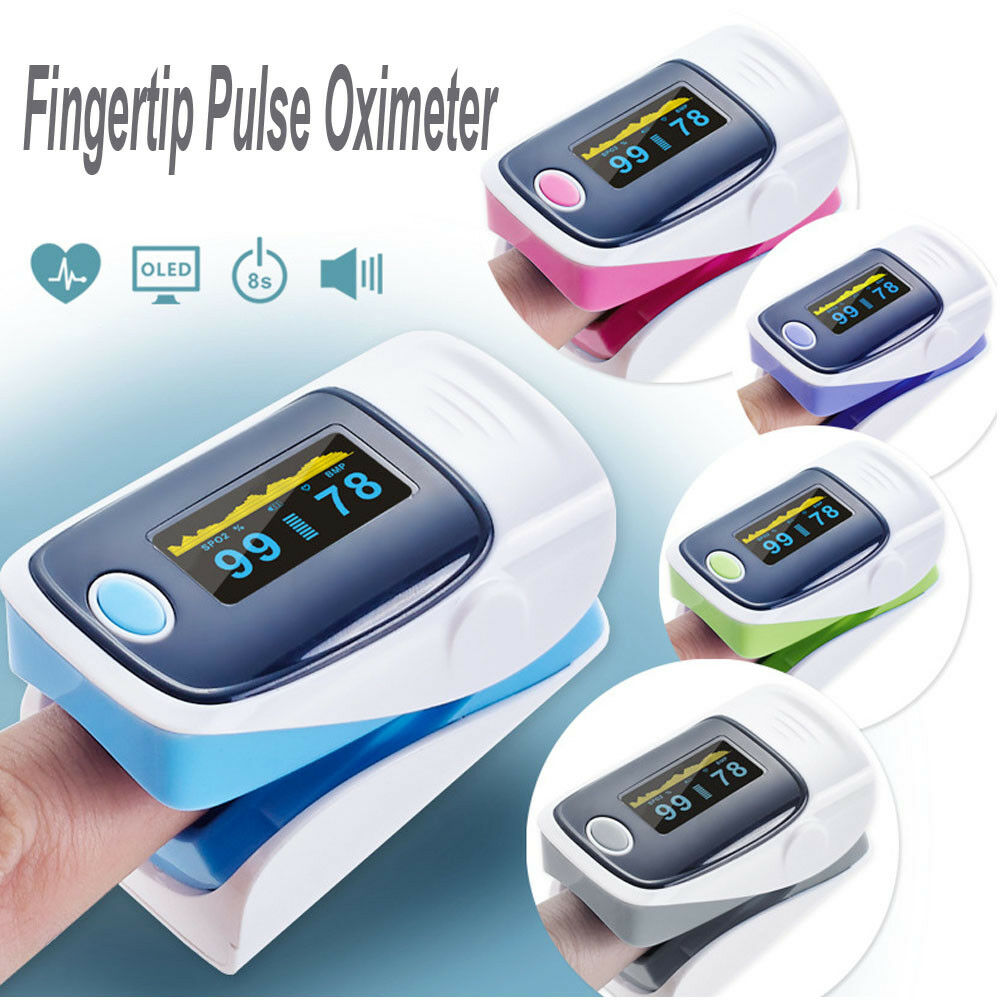 Details about Digital Fingertip Pulse Oximeter SPO2 PR PI 3  Parameters+Blood Oxy Memory Record