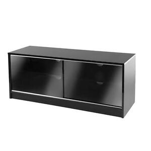 Marvelous Black Glass TV Cabinet