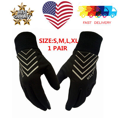 Womens Warm Winter Gloves Thermal Insulation Driving Soft Lining Cycling Mens US
