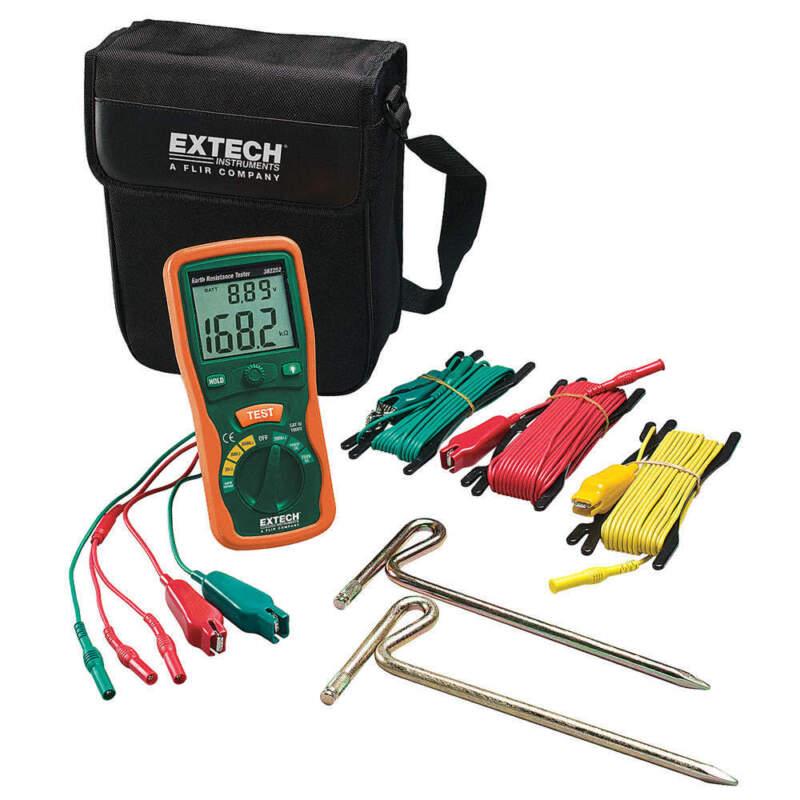 EXTECH 382252 Earth Ground Tester Kit,820 Hz