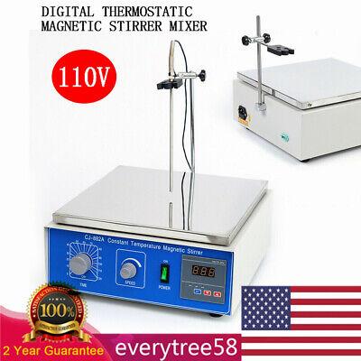 Digital Constant Tem Magnetic Stirrer Mixer Whotplate Magnetic Heating Timing