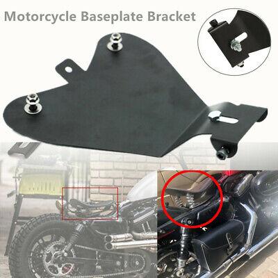 1*Motorcycle Single Seat Baseplate Bracket Fit For Honda Yamaha Kawasaki Suzuki
