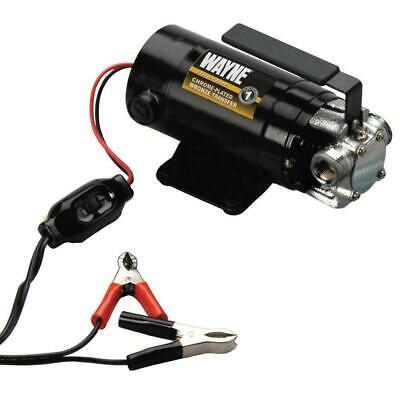 12-volt Utility Water Transfer Pump Metal Motor Housing Portable Lightweight New