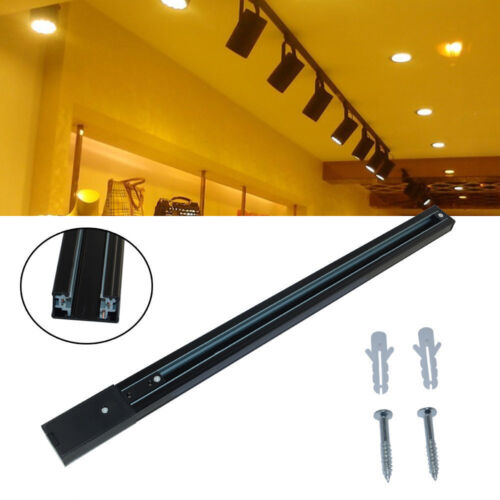 3-Wire LED track Rail Fixture Universal Rails for LED Track