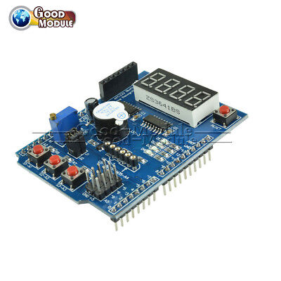 Funduino Multi-function Shield For Arduino Uno Lenardo Mage2560 Mega Top New
