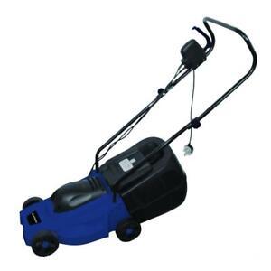 Laptronix 1000w Electric Lawnmower Grass Cutter Lawn Mower Rotary Motor