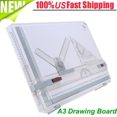 A3 Drafting Drawing Board Set Tracing Architect Stencil Ruler Table Draft Tool, used for sale  USA