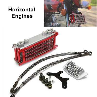 Multi-layer Aluminum Oil Cooling System Radiator For 50/70/90/110CC Dirt Bike