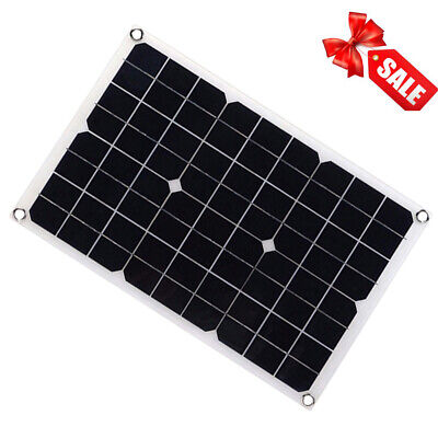 Ductile 18V 20W Watt Solar Panel Battery Charger Controller Kit+Controller