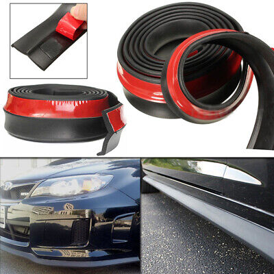 2.5M Universal Car Front Bumper Lip Skirt Splitter Body Trim Spoiler Protector