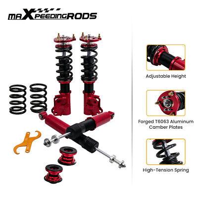 Coilovers Kits For Honda Civic 2006-2011 LX EX SI FA5 FG2 FG1 Adj Height Red