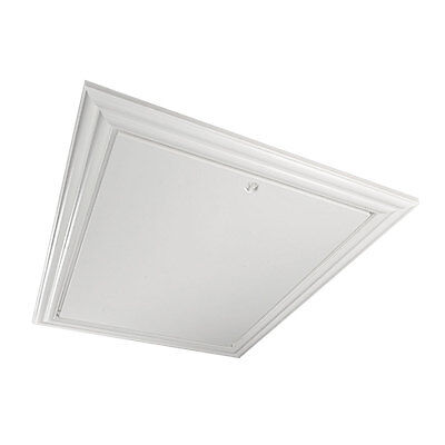 Traditional style loft hatch with ornate frame