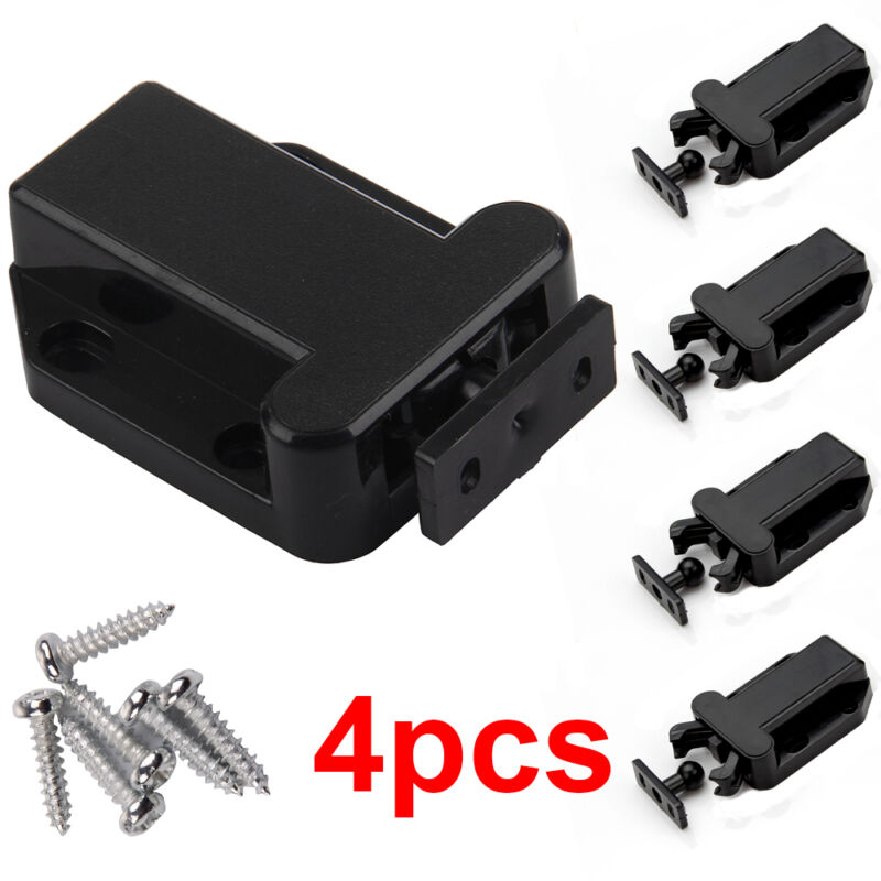 4pcs Push to Open Touch Release Catch Latch loft Drawer ...