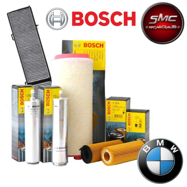 INSPEKTIONSKIT FILTERSET 4 FILTER OEM BOSCH BMW 3 320d 100KW