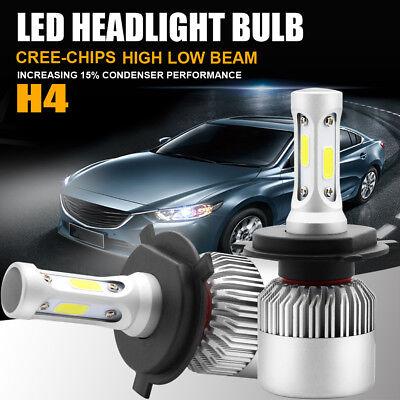 Autofeel COB H4 HB2 9003 900W 135000LM LED Headlight Kit Hi/Lo Power Bulbs 6500K