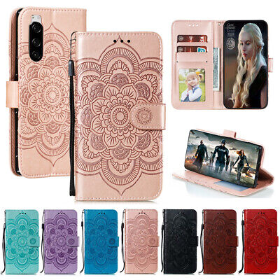 Case For Sony Xperia 1 5 10 XZ3 L3 Magnetic Wallet Flip Leather Card Phone Cover