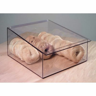 Cal-mil Display Box With Hinged Lid Acrylic - 13 14 L X 15 14 D X 7 H 1206