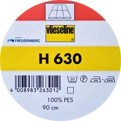 1 Meter, Vlieseline H630, Volumenvlies zum Aufbügeln, Freudenberg, 90cm breit