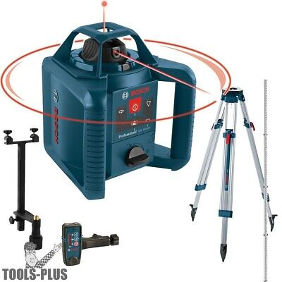 Bosch Grl245hvck 800 Dual-axis Self-leveling Reconditioned Rotary Laser