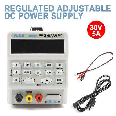 3005d 110v 150w 5a Dc Power Supply Variable Adjustable Regulator Lab Equipment