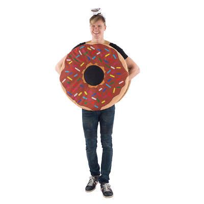 Adult Sprinkle Donut Mascot Halloween Costume](Adult Donut Costume)