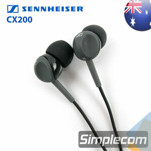 Sennheiser CX200 Street II Headphones In Ear Earphones Earbuds Powerful Bass